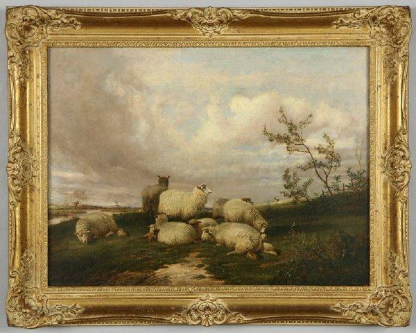 149: School of Thomas Sidney Cooper oil painting on