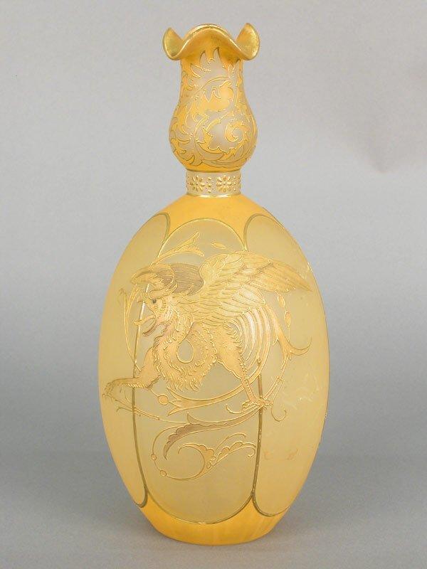 537: Magnificent Royal Flemish vase by Mt. Wa