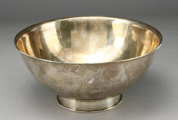 12: Erik Magnussen hand wrought sterling silver bowl,