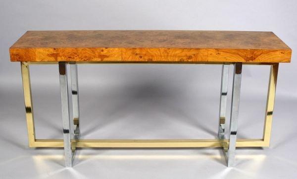 15: Contemporary Pierre Cardin console sofa/table,