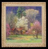108 Curt Walters oil painting on canvas titled on