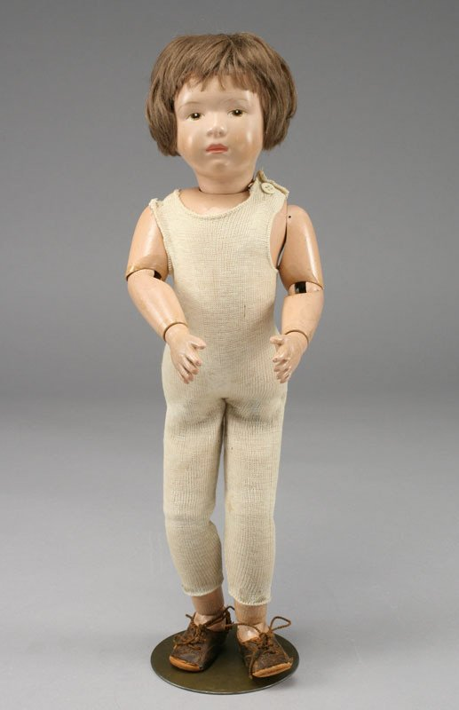 16: American character doll by Schoenhut,