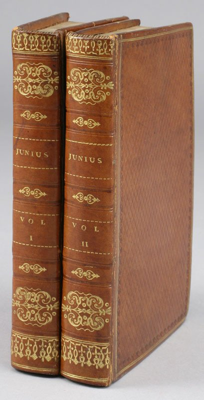 18: Two volumes rare fore-edge painted books,