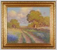 279: Robert William Wood oil painting on canvas