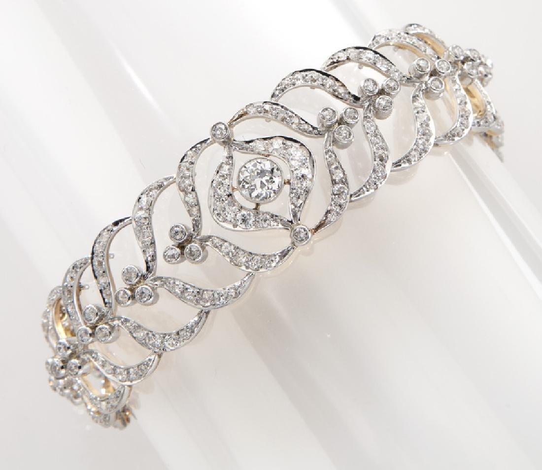 Victorian/Edwardian platinum over 18K and diamond