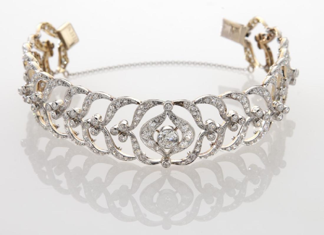 Victorian/Edwardian platinum over 18K and diamond - 2