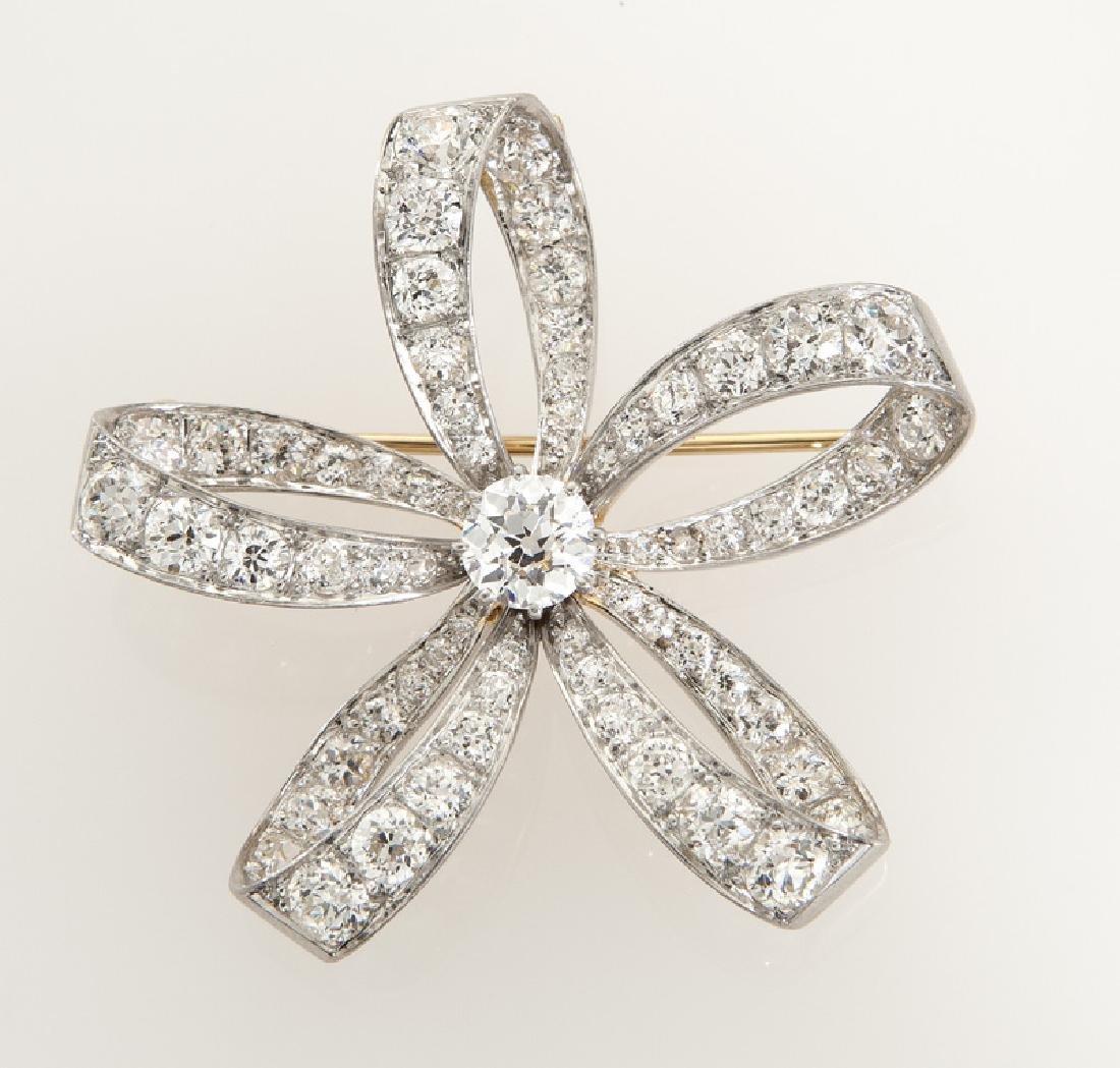 Belle Epoque platinum, 18K rose gold and diamond