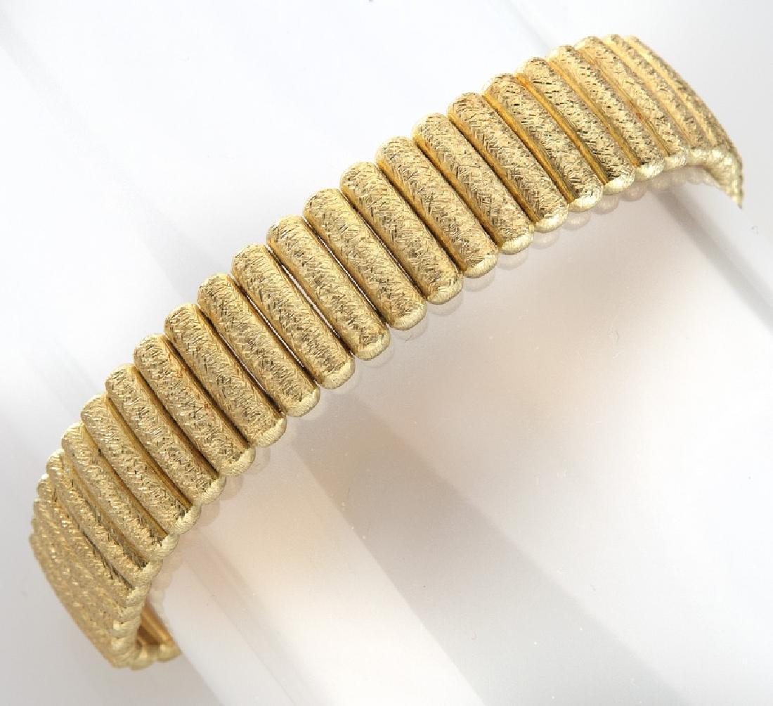 Signoretti Italian 18K Florentine gold link