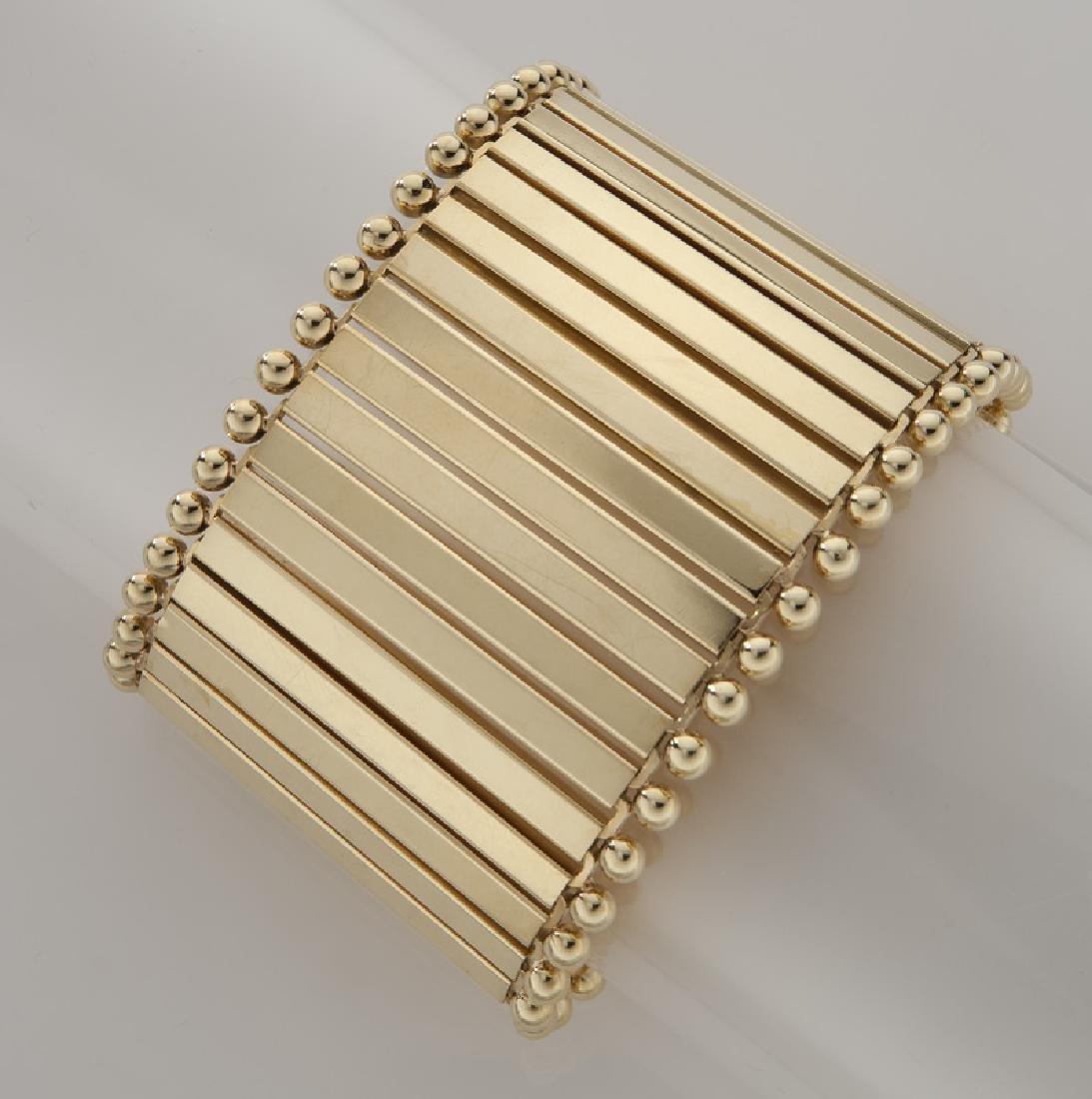 Carlo Weingrill 18K gold bracelet.