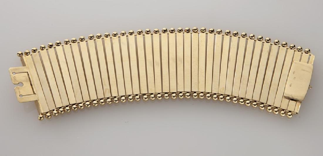 Carlo Weingrill 18K gold bracelet. - 3