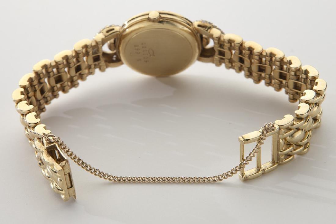 Chopard 18K gold and diamond watch - 3