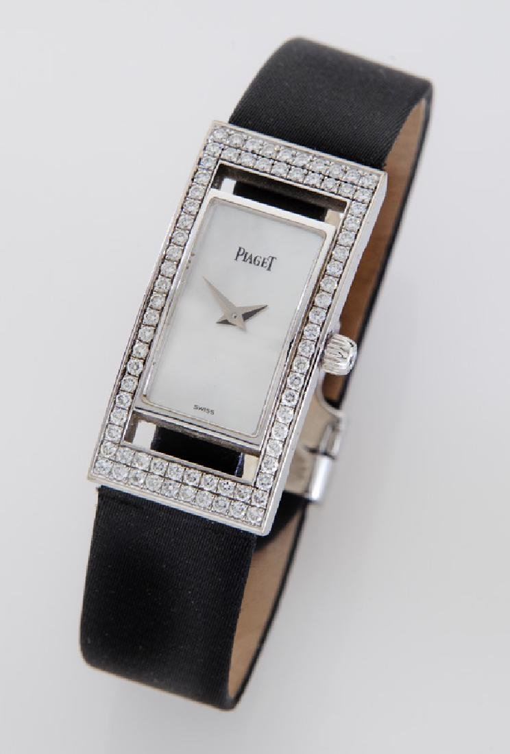 Piaget 18K gold and diamond wristwatch