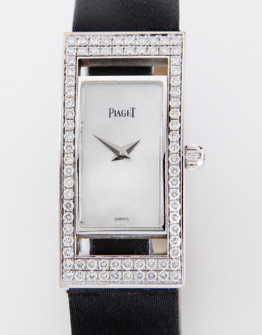Piaget 18K gold and diamond wristwatch - 2