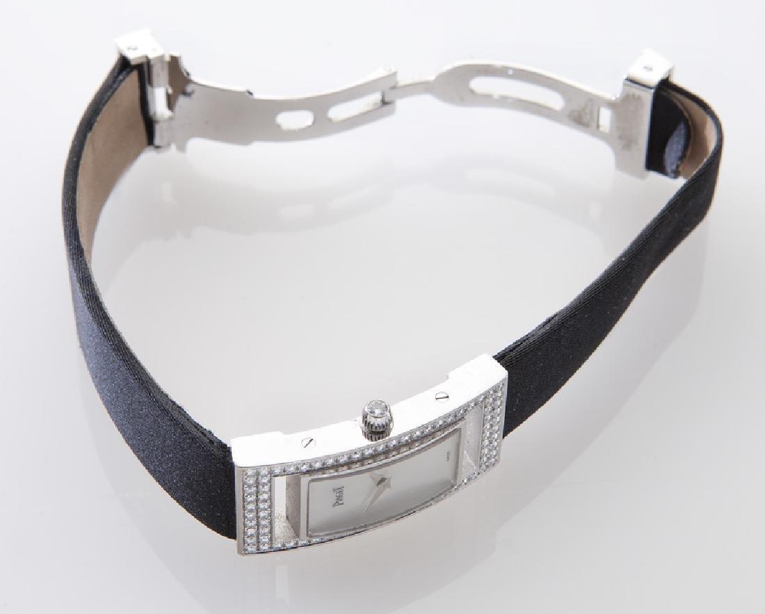 Piaget 18K gold and diamond wristwatch - 4