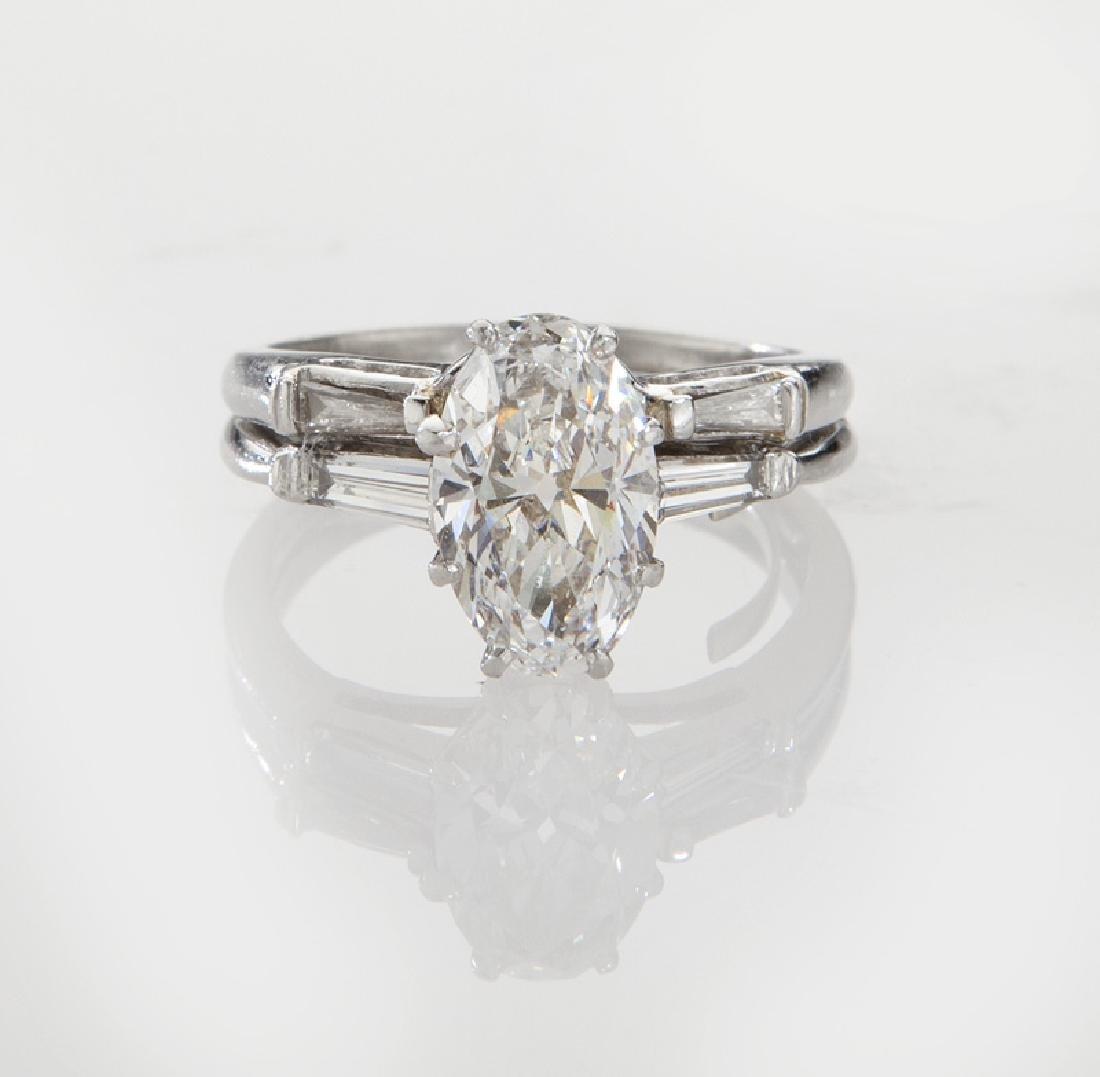 Fred Joaillier platinum & 1.77 ct. (GIA) diamond - 2