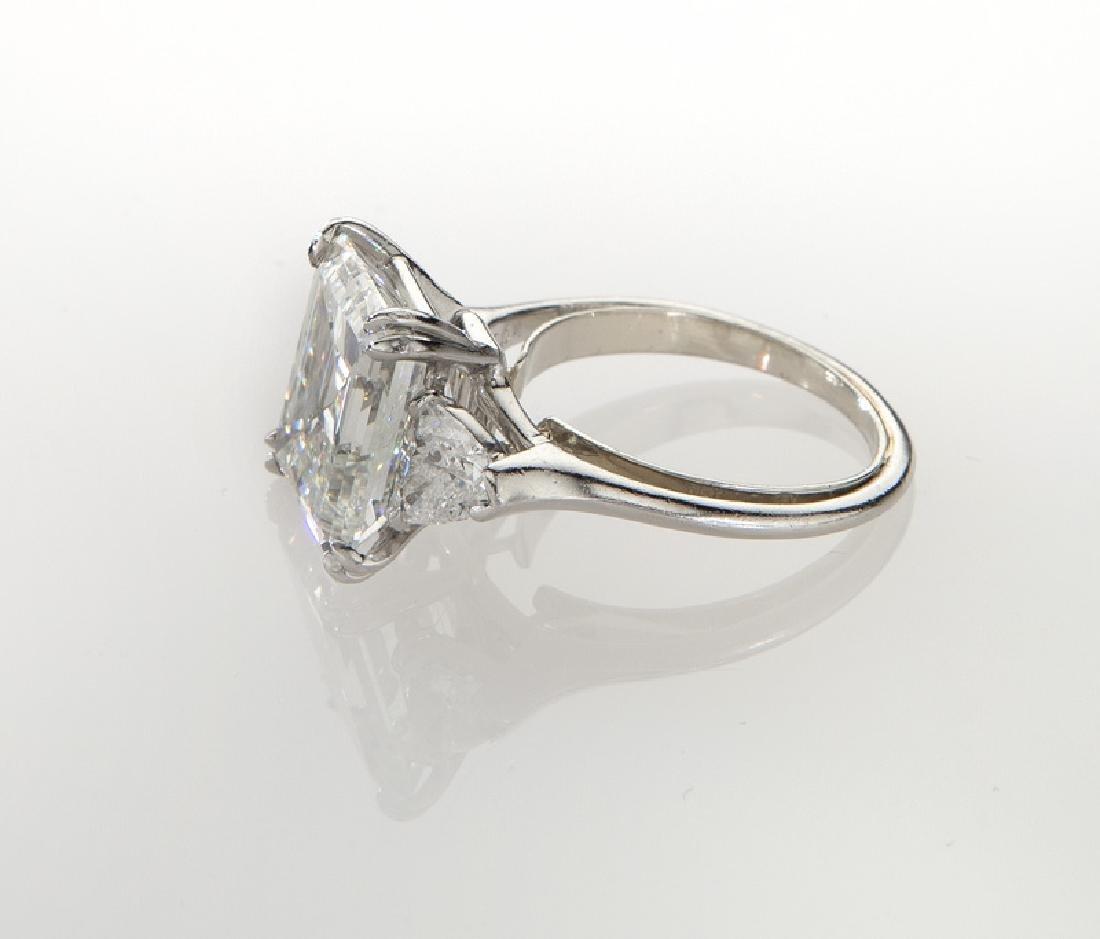 Harry Winston plat. & 5.05 ct. (GIA) diamond ring - 3