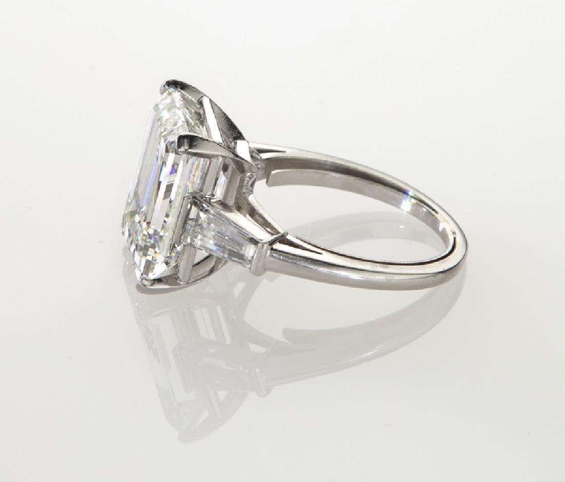 Platinum and 9.20 ct. (GIA) diamond ring - 3