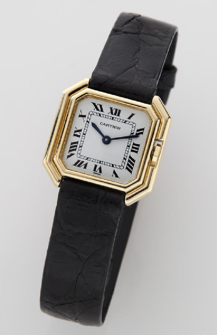 Cartier 18K gold Ceinture wristwatch