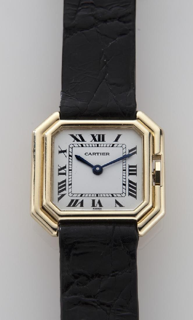 Cartier 18K gold Ceinture wristwatch - 2