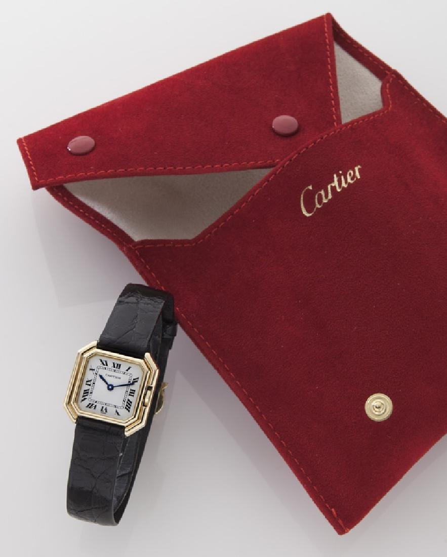 Cartier 18K gold Ceinture wristwatch - 6