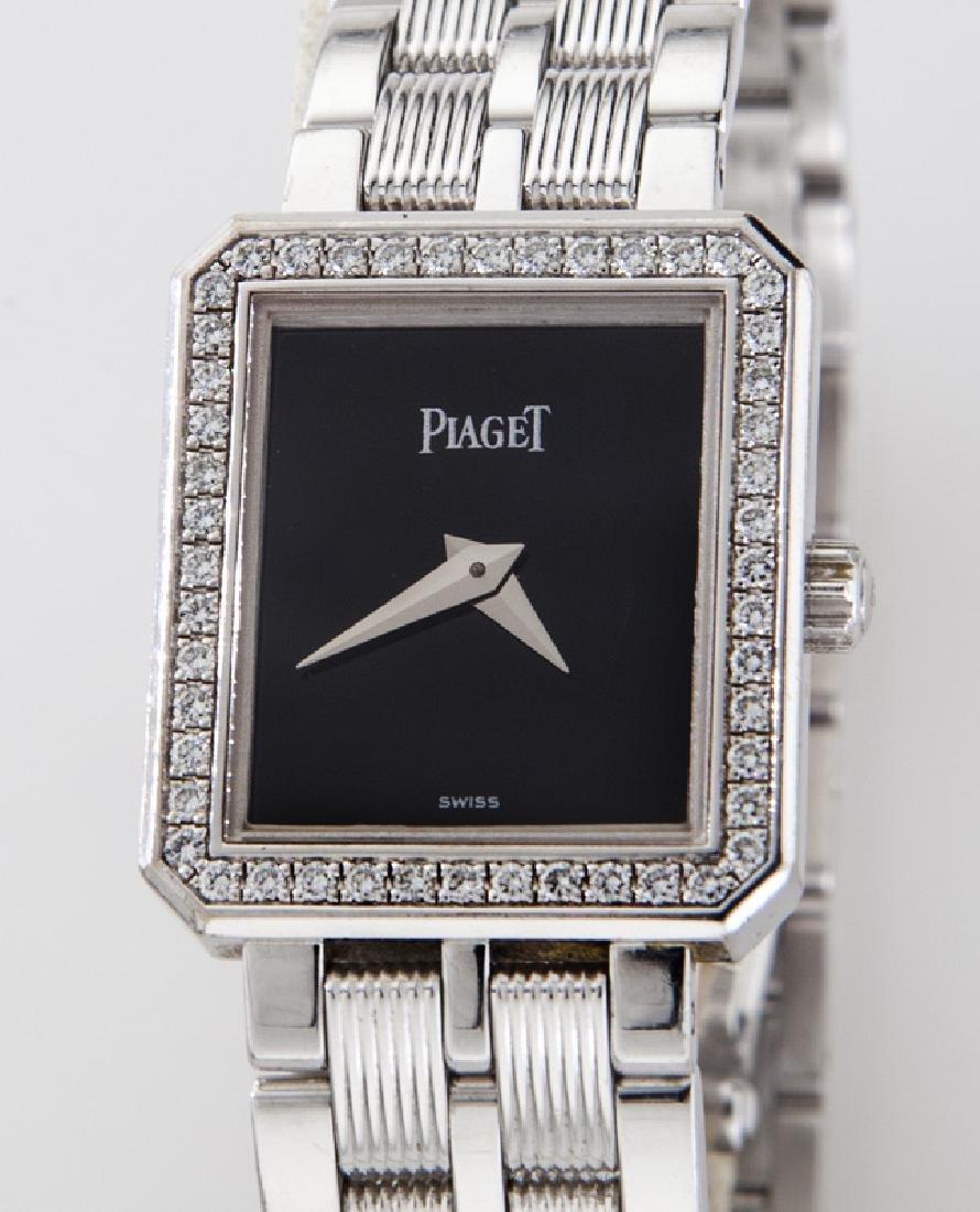 Piaget 18K gold and diamond Protocole wristwatch - 2
