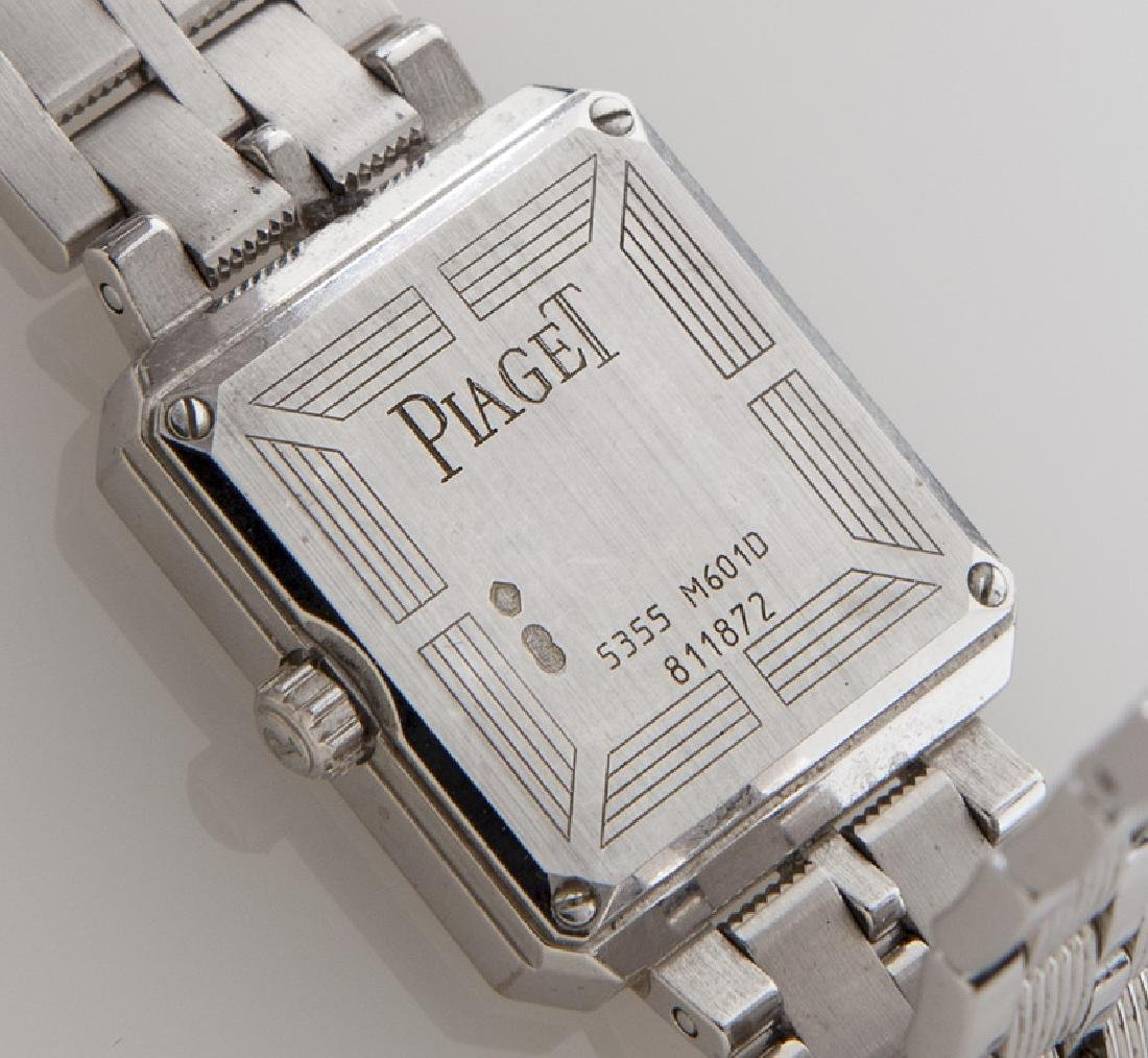 Piaget 18K gold and diamond Protocole wristwatch - 3