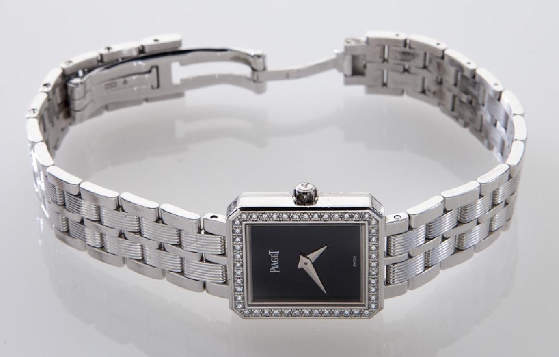 Piaget 18K gold and diamond Protocole wristwatch - 4