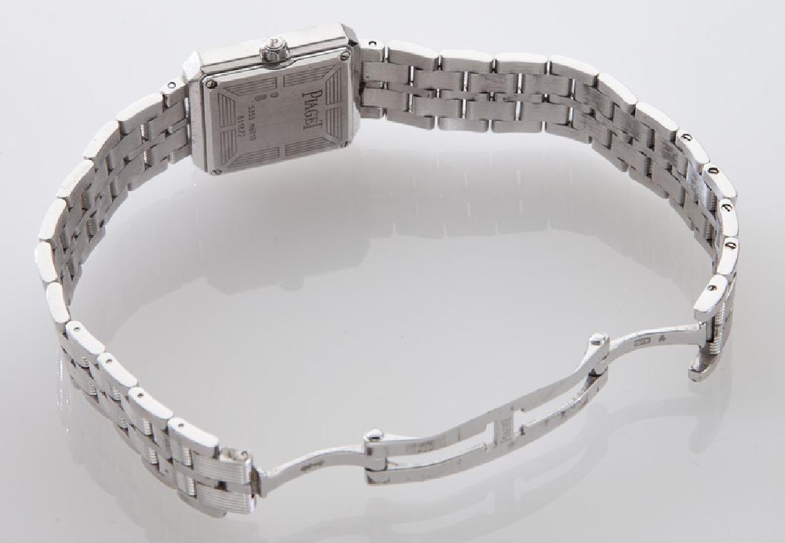 Piaget 18K gold and diamond Protocole wristwatch - 5