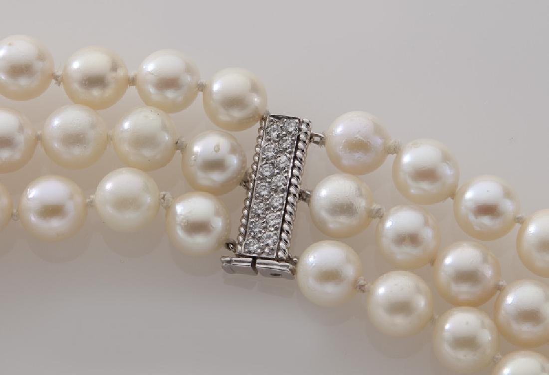 David Webb 14K gold, diamond, crystal and pearl - 3