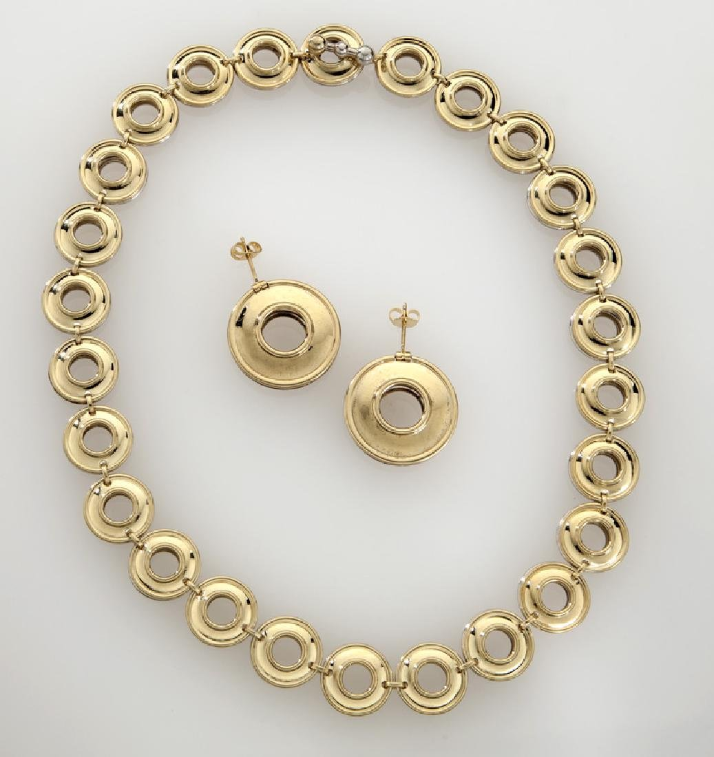 Paloma Picasso for Tiffany & Co. 18K/sterling set,
