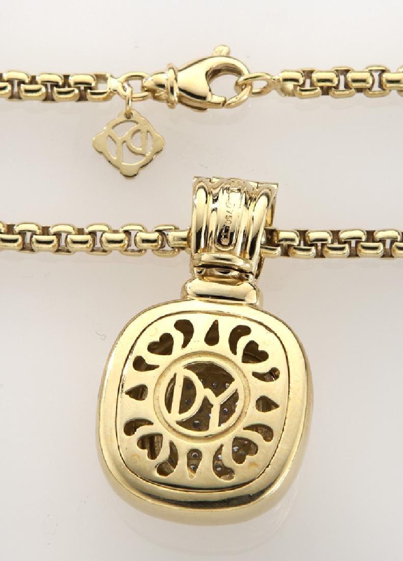 2 Pcs. David Yurman 18K gold and diamond jewelry - 4