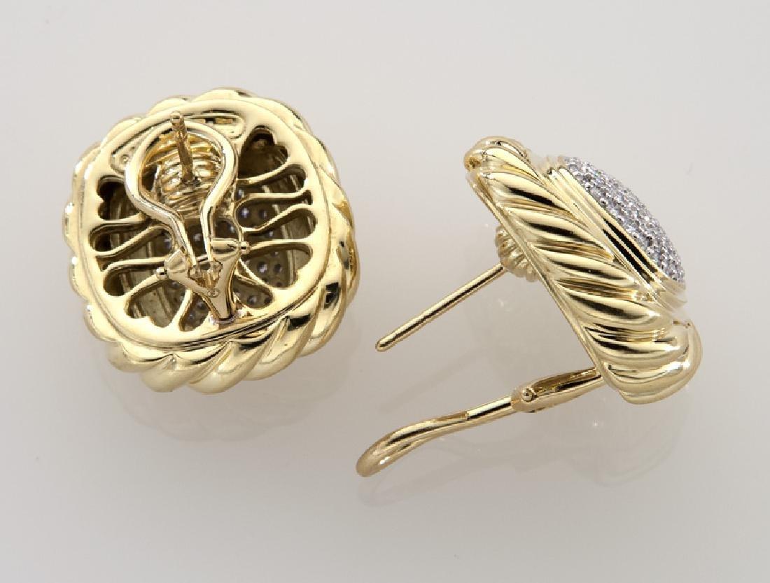 2 Pcs. David Yurman 18K gold and diamond jewelry - 6