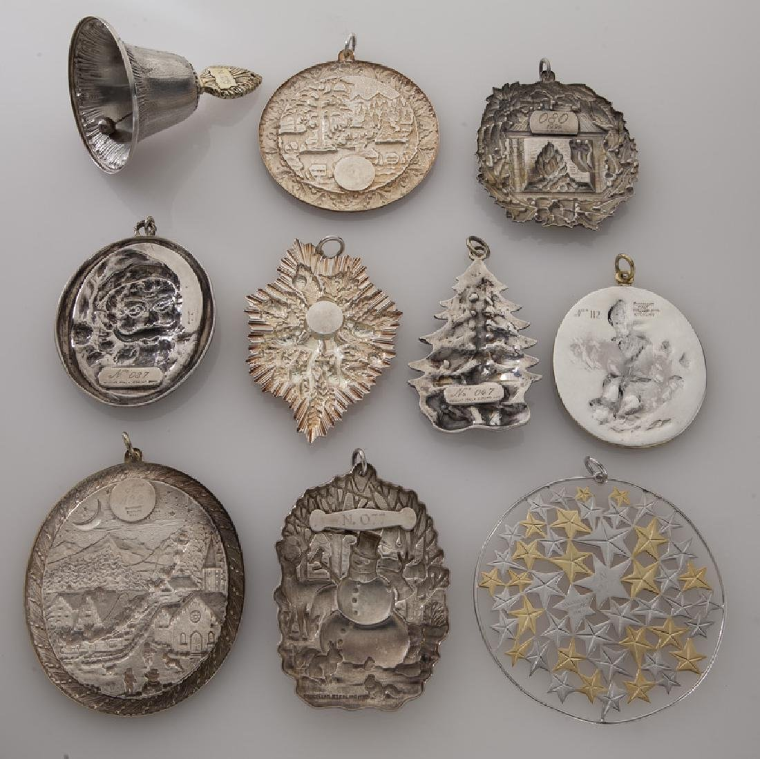 Group of 10 Buccellati sterling silver and gilt - 2