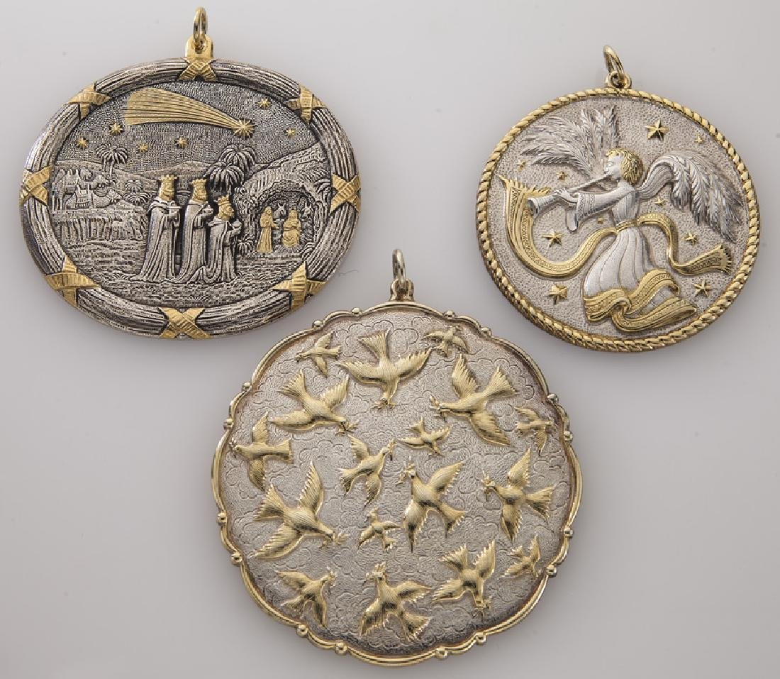 Group of 10 Buccellati sterling silver and gilt - 3