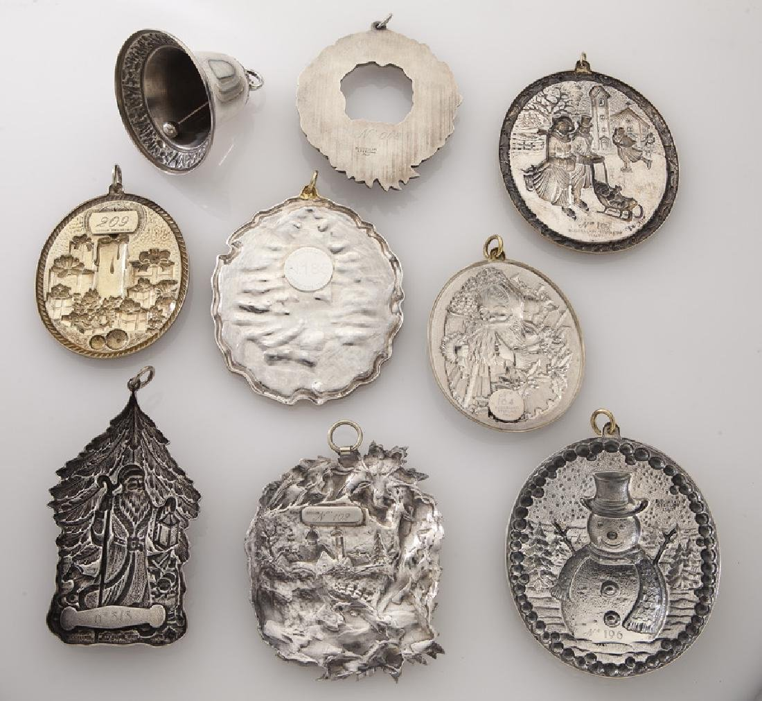 Group of 9 Buccellati sterling silver and gilt - 2