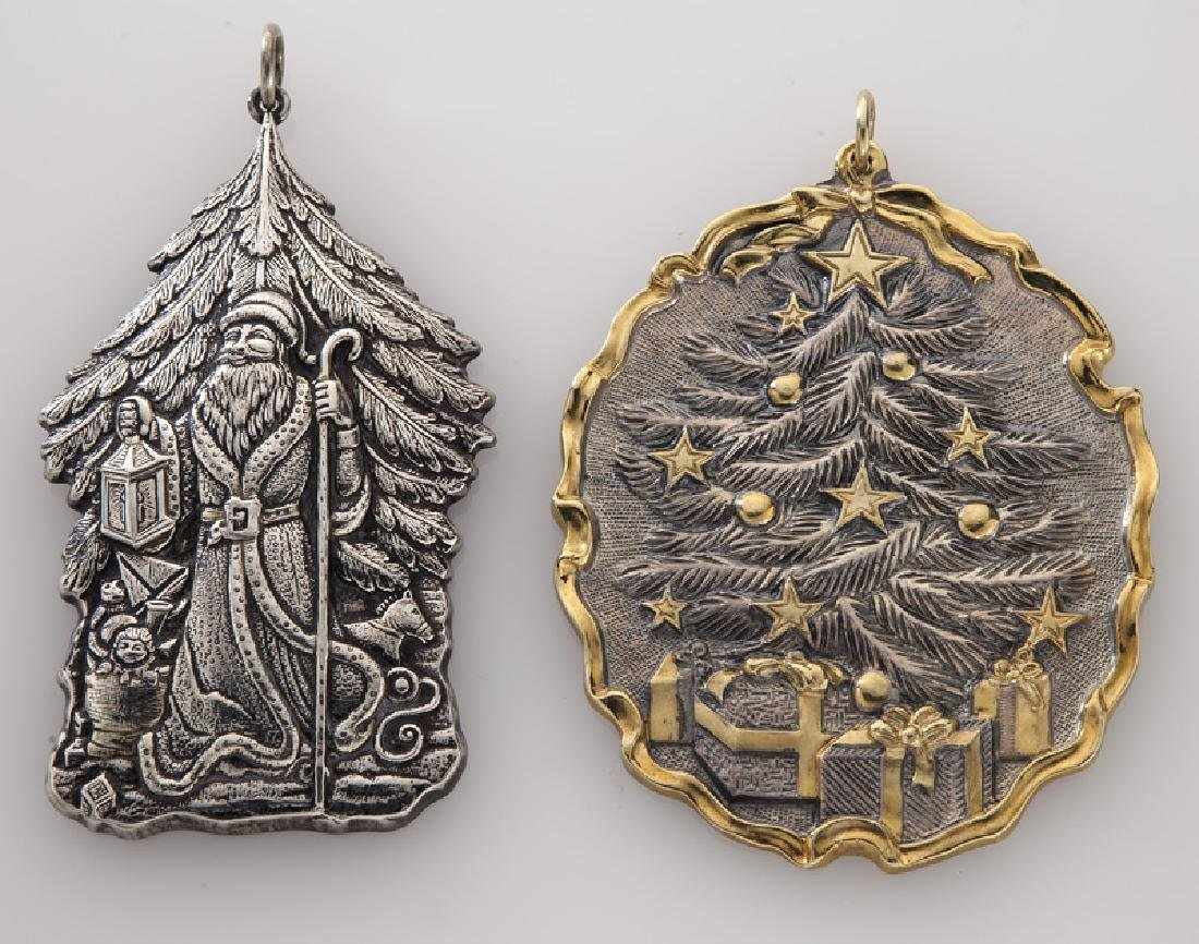 Group of 9 Buccellati sterling silver and gilt - 3