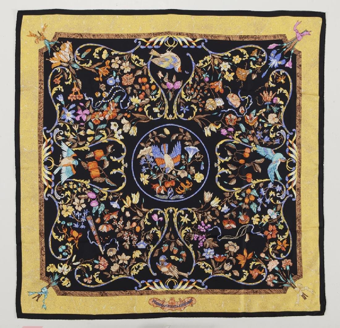 """Hermes """"Pierres d'Orient et d'Occident"""" silk scarf"""