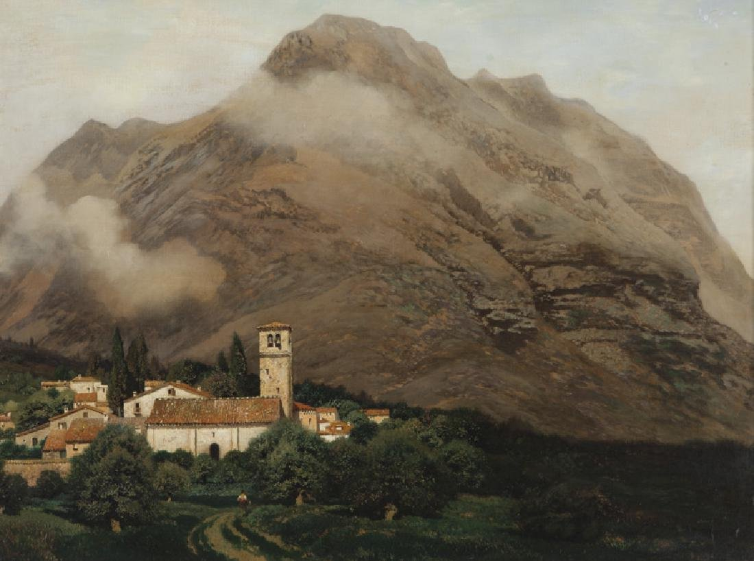 "Henry Pember Smith ""Untitled (Italian landscape)"""