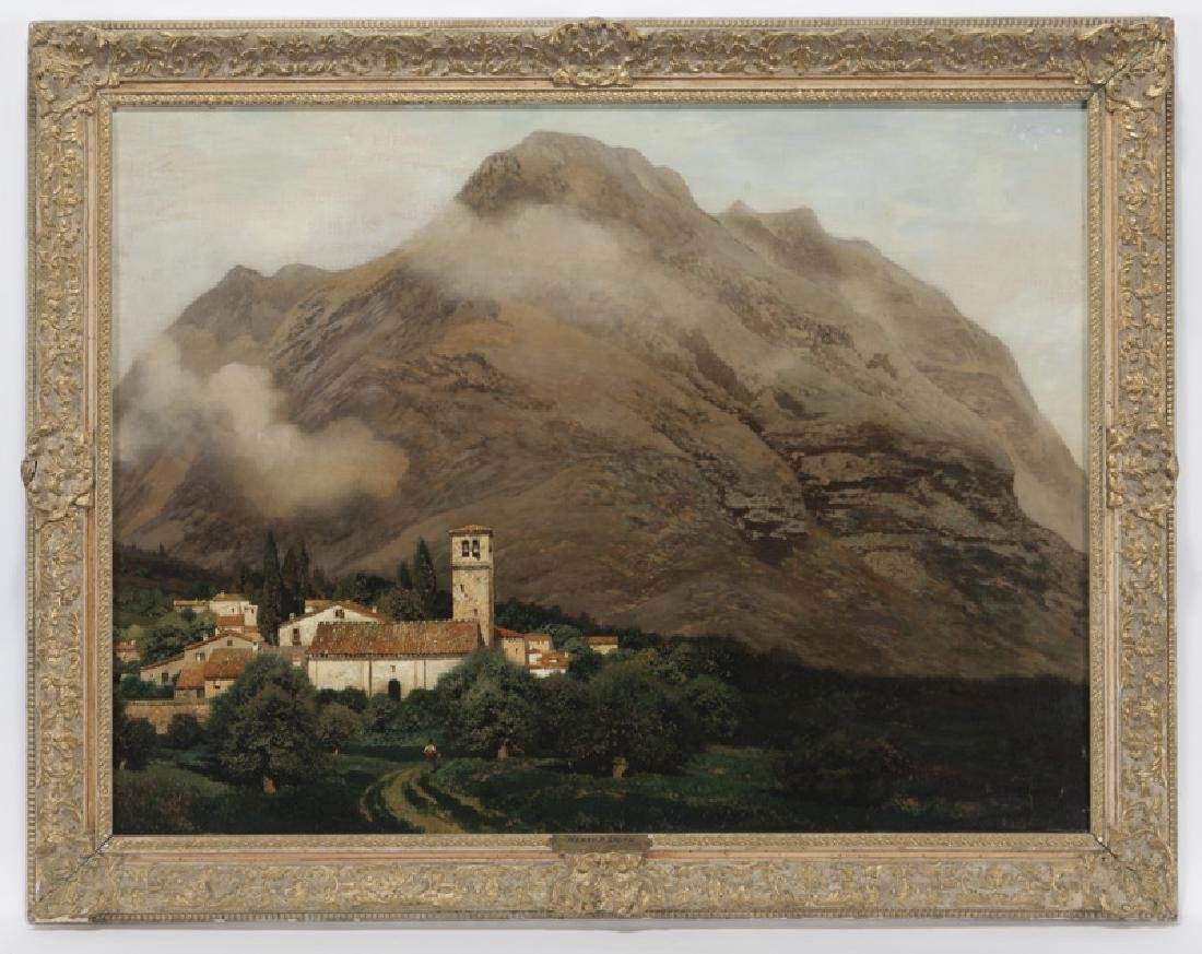 "Henry Pember Smith ""Untitled (Italian landscape)"" - 2"