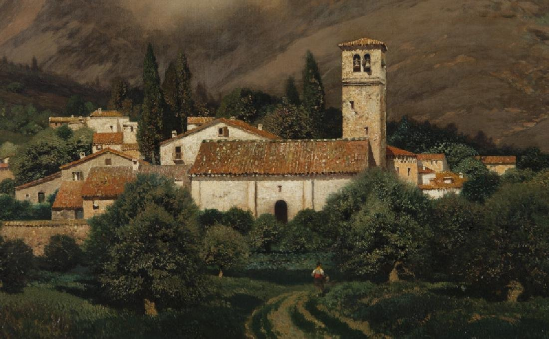 "Henry Pember Smith ""Untitled (Italian landscape)"" - 3"