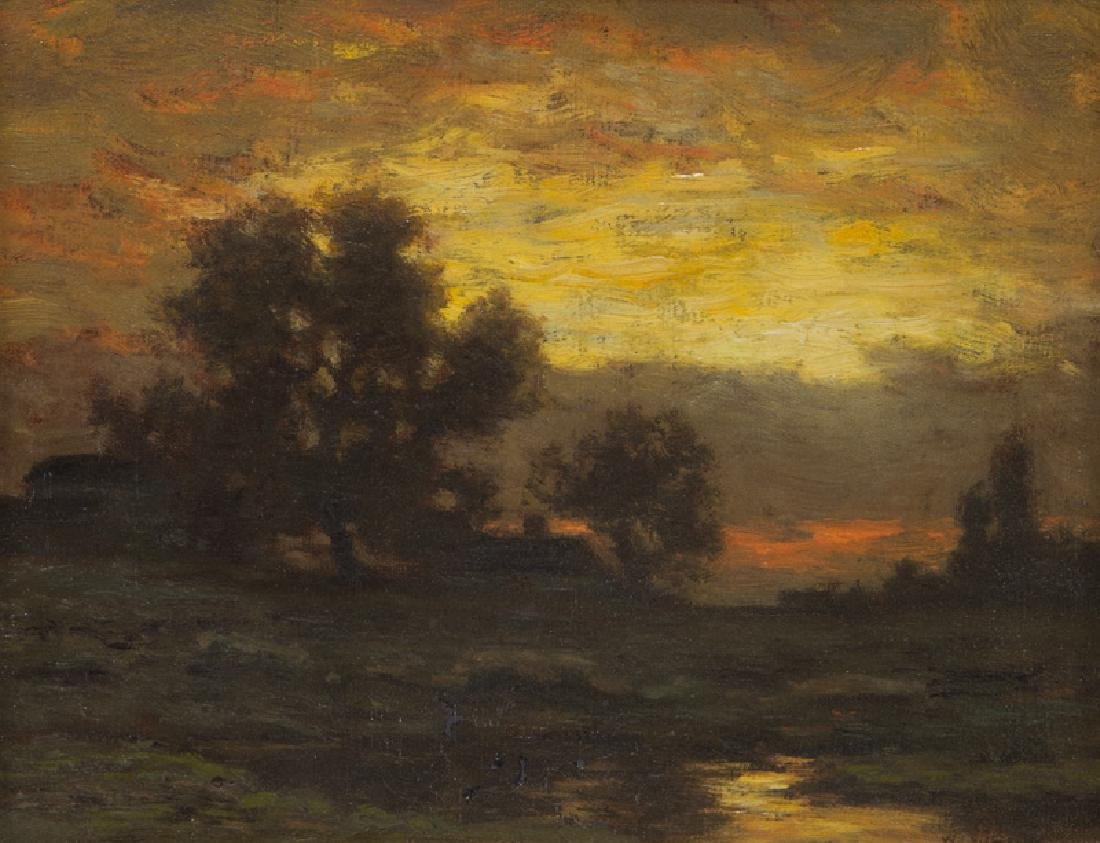 "William Crothers Fitler ""Untitled (Landscape"