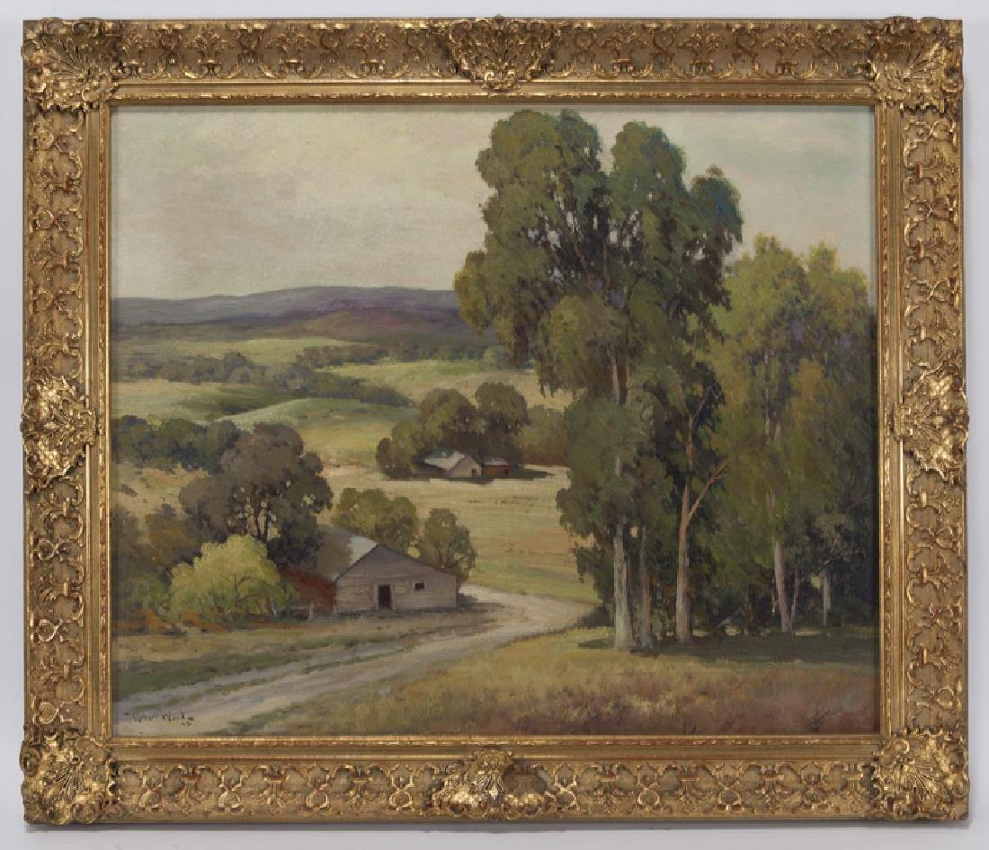 "Robert Wood ""California Landscape"" oil on - 2"