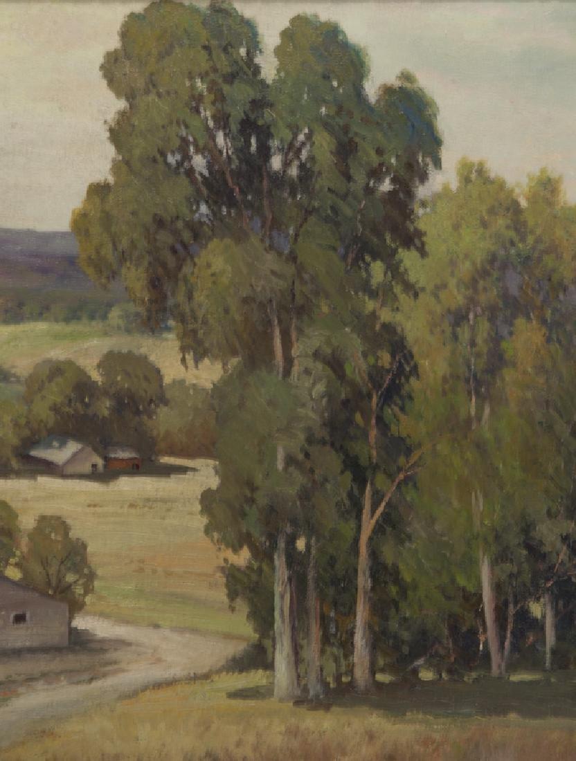 "Robert Wood ""California Landscape"" oil on - 4"