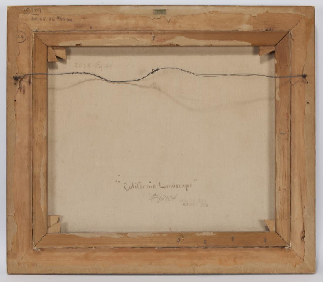 "Robert Wood ""California Landscape"" oil on - 6"