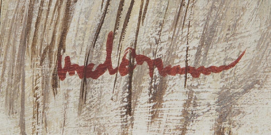 """Ancel Nunn """"Small Landscape"""" oil on board, - 4"""