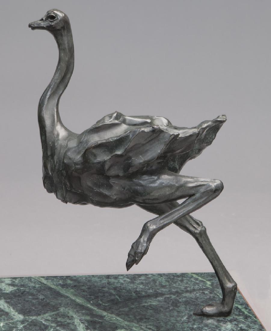 """Sherry Salari Sander """"Herd of Birds"""" bronze - 6"""
