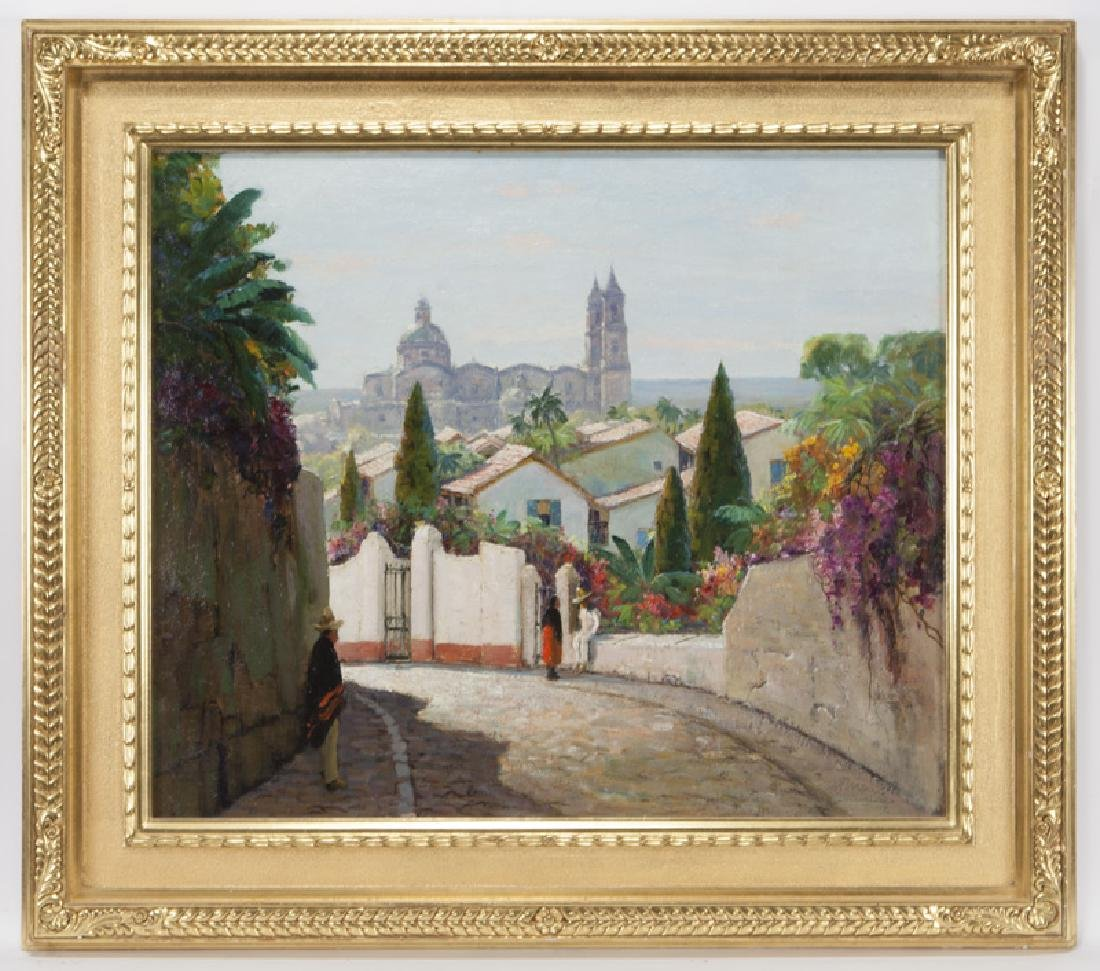 """Anthony Thieme """"Taxco Cathedral, Mexico"""" - 2"""