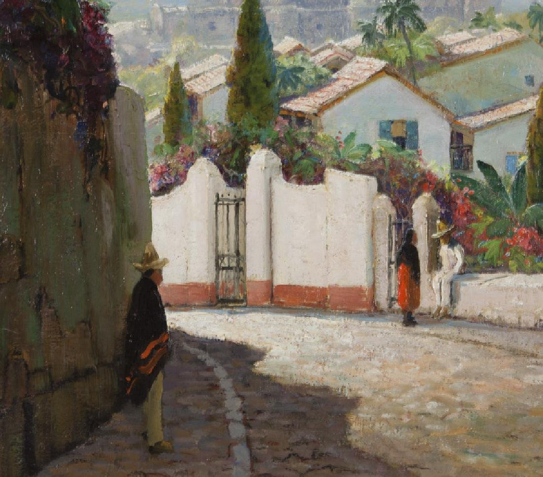 """Anthony Thieme """"Taxco Cathedral, Mexico"""" - 3"""