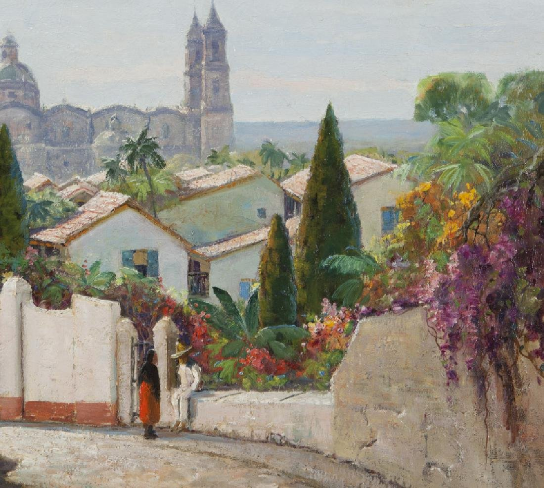 """Anthony Thieme """"Taxco Cathedral, Mexico"""" - 4"""