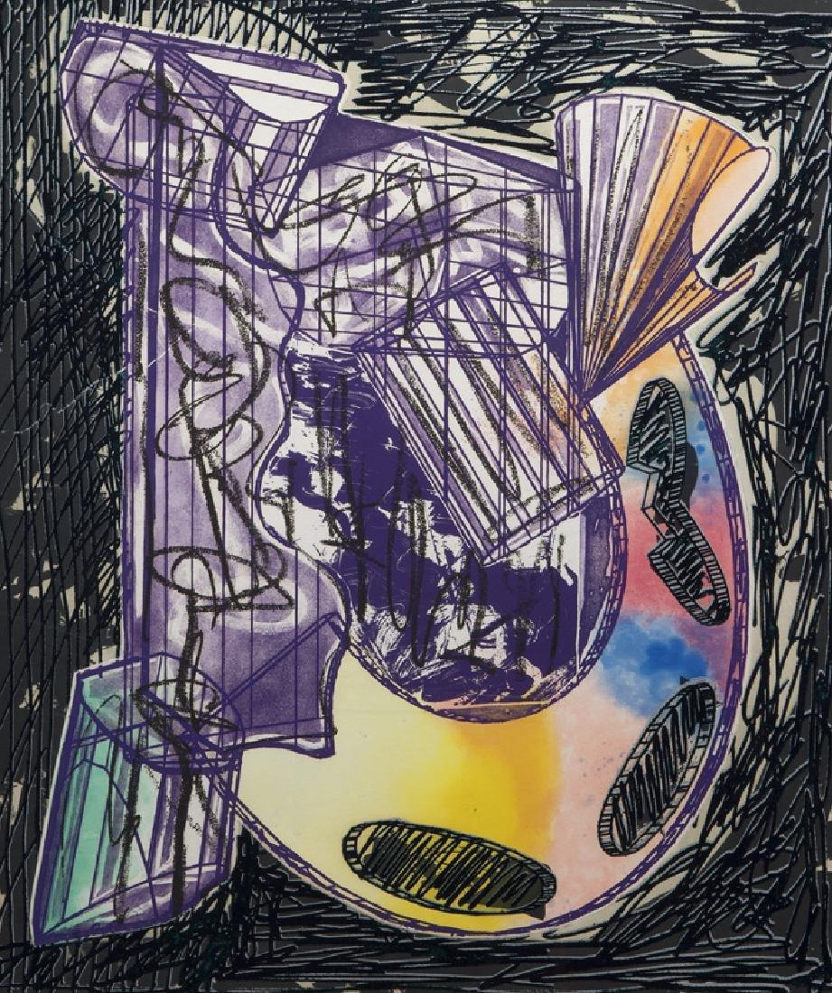 "Frank Stella ""Bene come il sale, State I"" etching - 3"